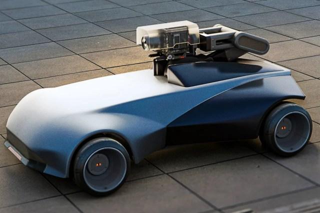 Remote-Controlled Camera Car