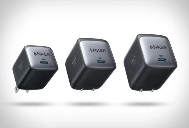 The Anker Nano II chargers