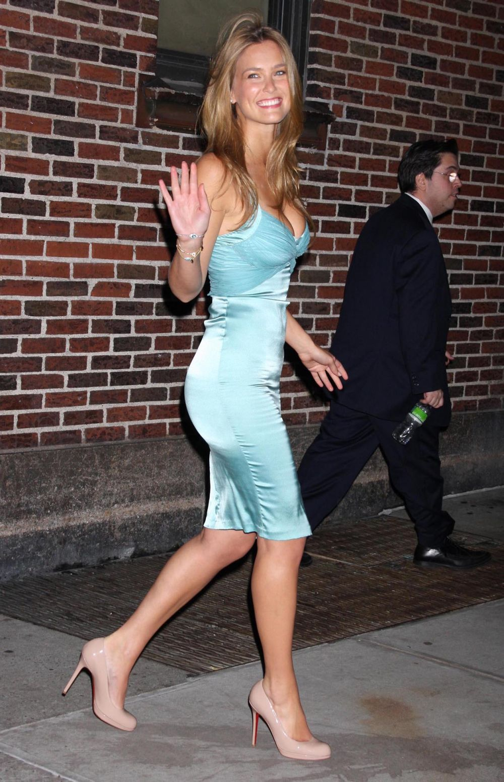 Bar Refaeli At The 'Late Show With David Letterman'