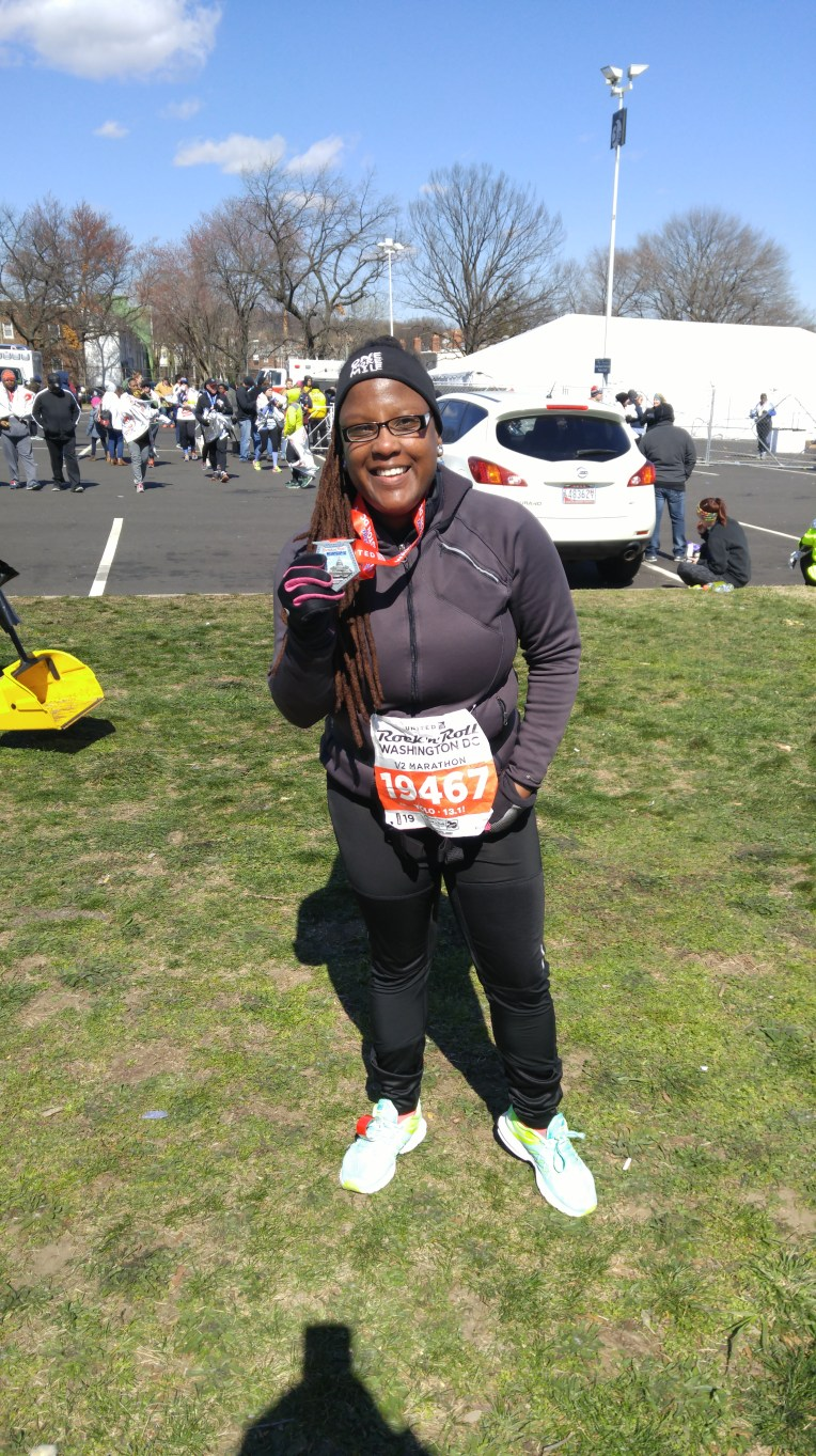 Finished the DC Rock n Roll Half ALIVE and 8 days before my 30th birthday! :)