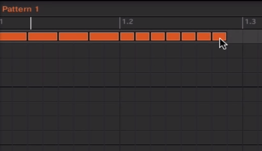 Screenshot of Native instrument Maschine Sequencer
