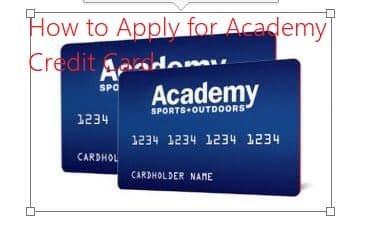 How to Apply for Academy Credit Card