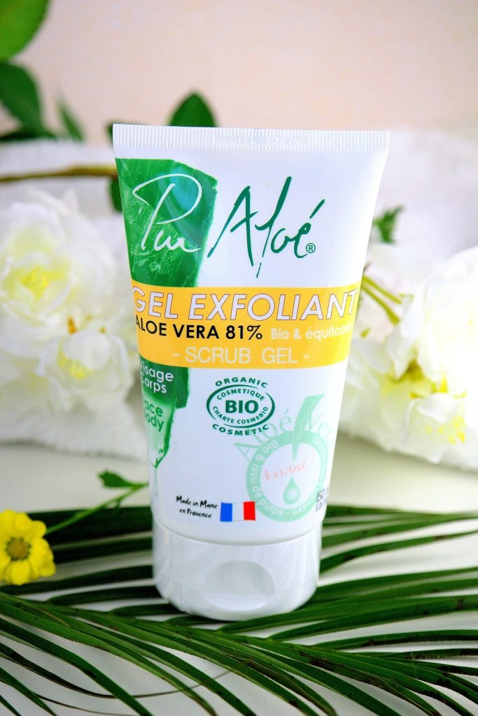 gel exfoliant pur aloe - only laurie
