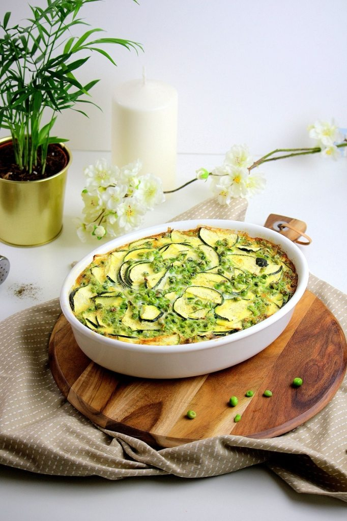 clafoutis salé - only laurie