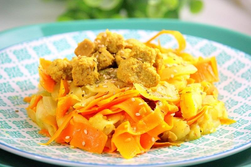 tagliatelles de légumes only laurie