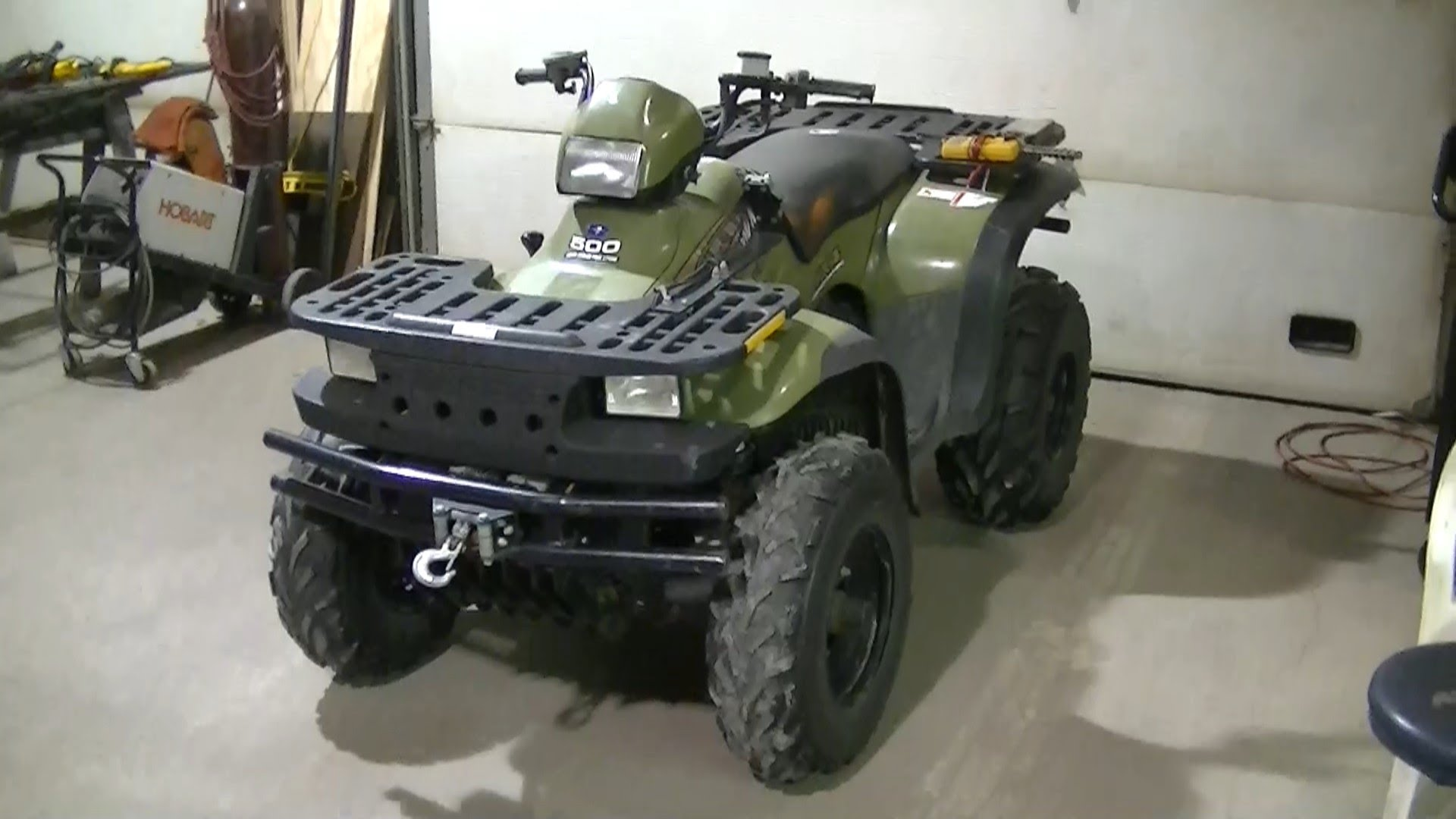 91 Atv Polaris Predator 500 Service Manual 2003 2004 2005