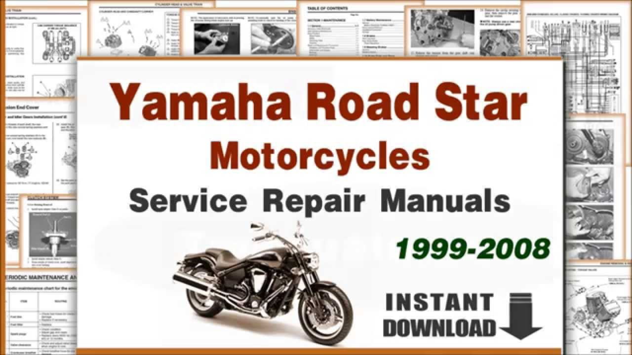 2004 yamaha roadstar wiring diagram yamaha roadstar