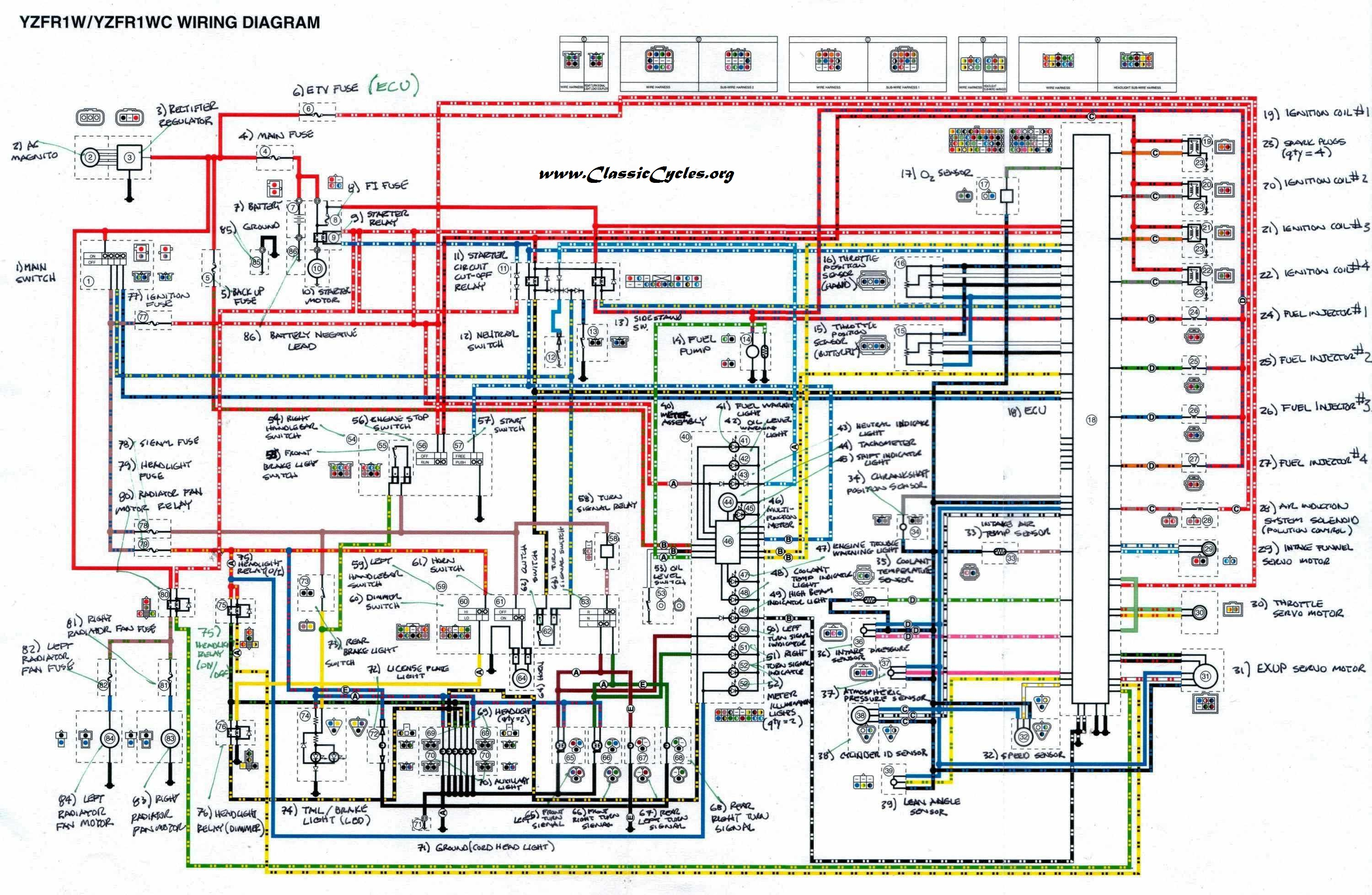Yamaha 650 Wiring Schematics - free download wiring diagrams