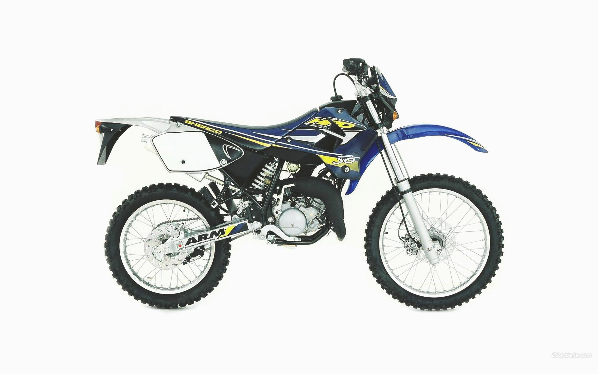 Sherco 50 Cc Enduro Pics Specs And Information