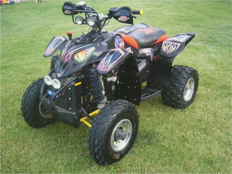 1998 Polaris Scrambler 400 Mods