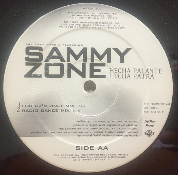 Sammy Zone – How Can I Live / Hecha Palante Hecha Patra