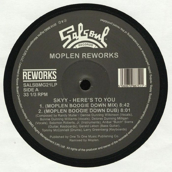 Skyy / The Salsoul Orchestra – Moplen Reworks