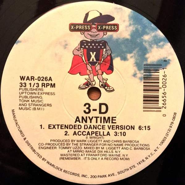 3-D – Anytime