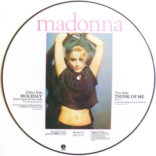 Madonna ‎– Holiday