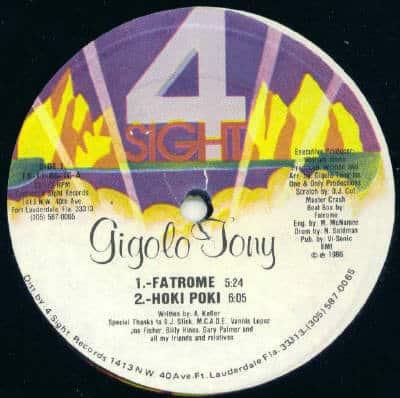 Gigolo Tony – Fatrome / Hoki Poki