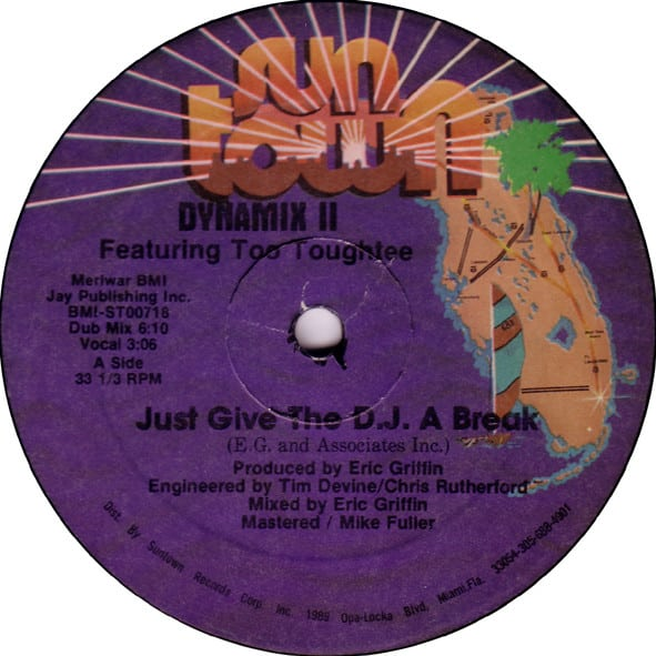 Dynamix II Featuring Too Toughtee - Just Give The D.J. A Break
