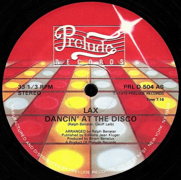 LAX – Dancin' At The Disco