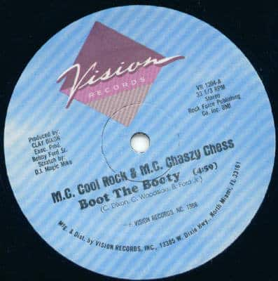 M.C. Cool Rock & M.C. Chaszy Chess – Boot The Booty