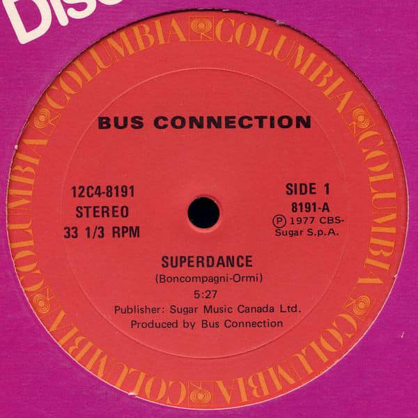 Bus Connection ‎- Superdance / Don't Stop
