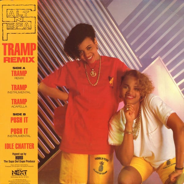 Salt 'N' Pepa ‎- Tramp (Remix) / Push It