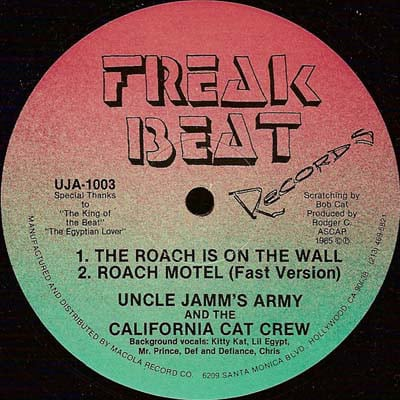 Uncle Jamm's Army & The California Cat Crew – The Roach Is On The Wall