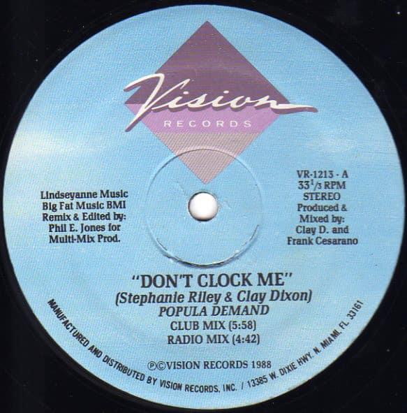 Popula Demand - Don't Clock Me