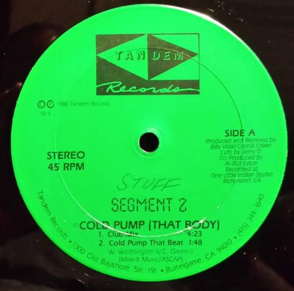 Segment 2 – Cold Pump (That Body)