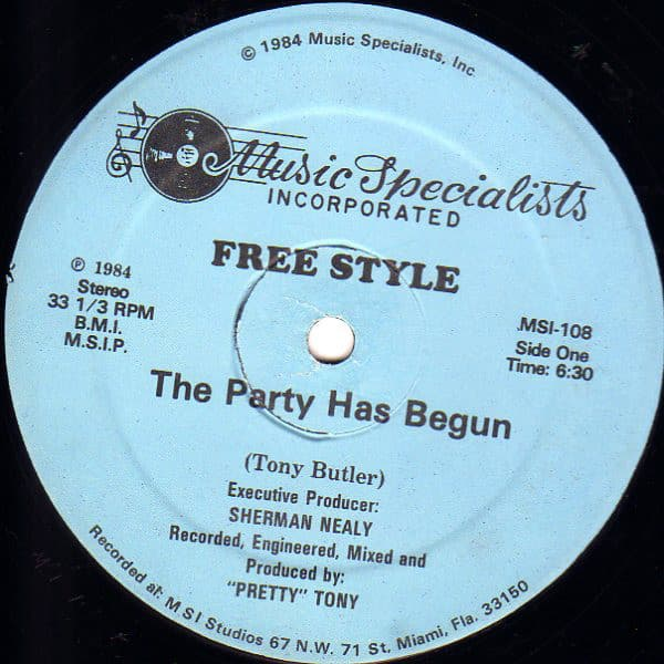 Free Style – The Party Has Begun