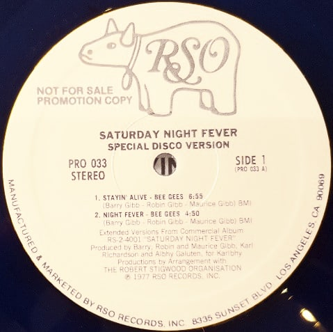 Bee Gees / Yvonne Elliman – Saturday Night Fever (Special Disco Version)
