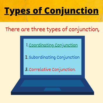 types of conjunction