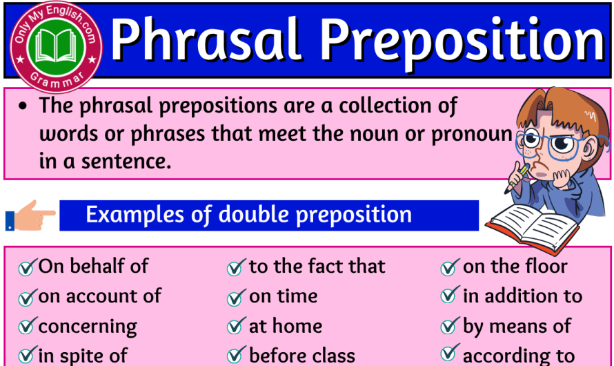 Phrasal Preposition: Definition, Examples, and list