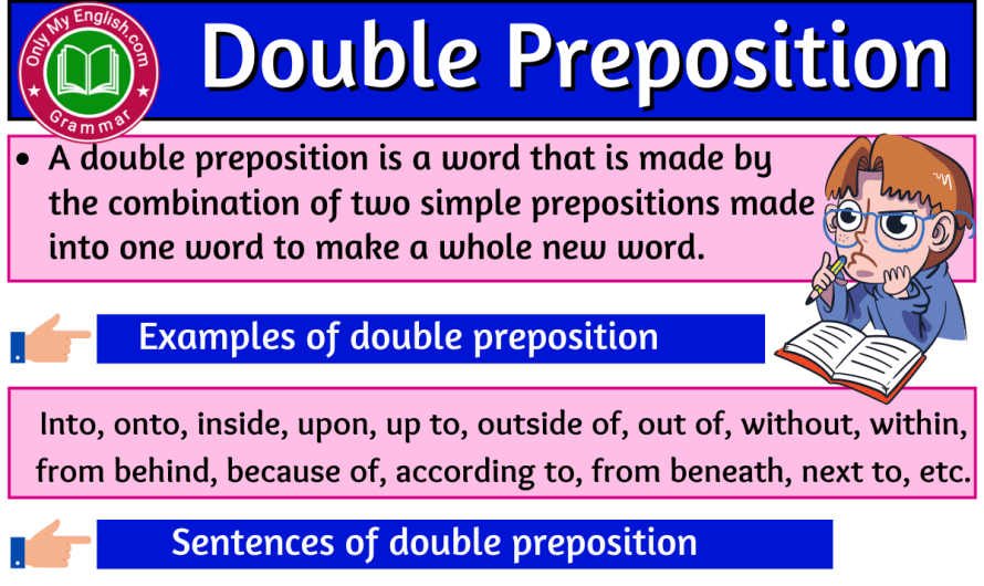 Double Preposition: Definition, Examples, and List