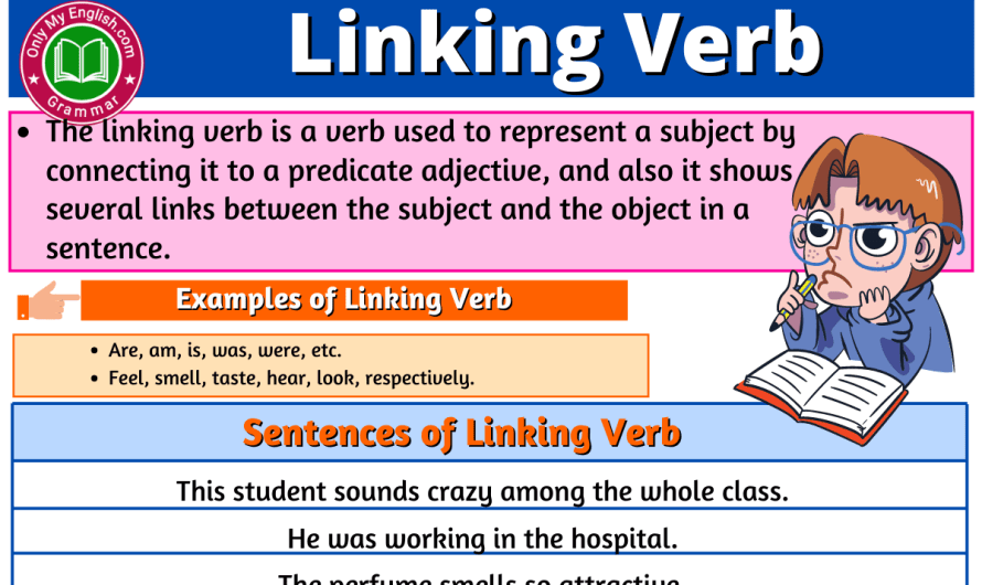 Linking Verb: Definition, Examples, Sentences, and List