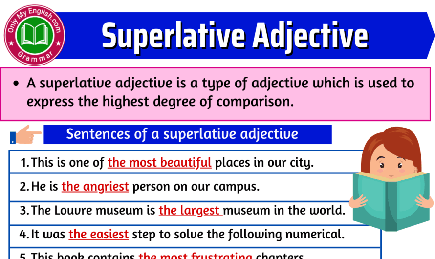 Superlative adjective: Definition, Examples & List