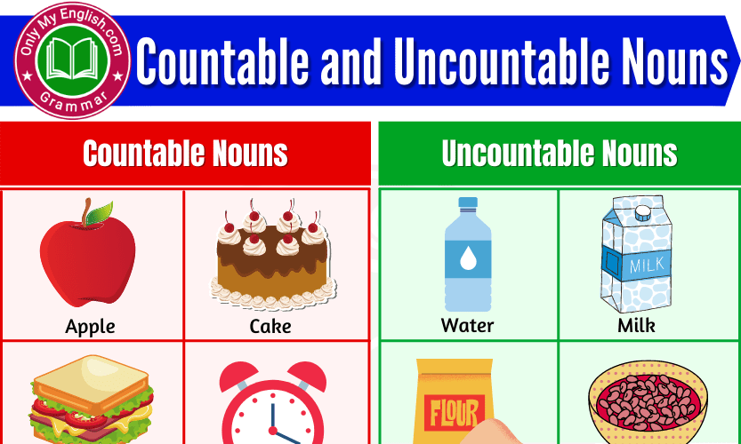 Countable and Uncountable Nouns: Difference, Examples, & List of words