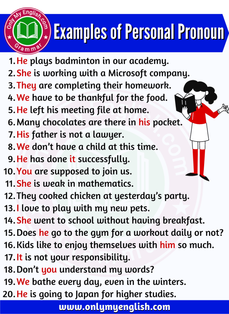 examples of personal noun in sentence