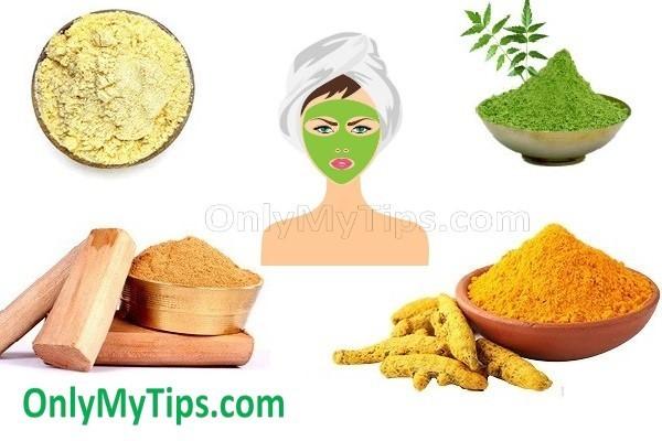 multani-mitti-neem-chandan-besan- facepack