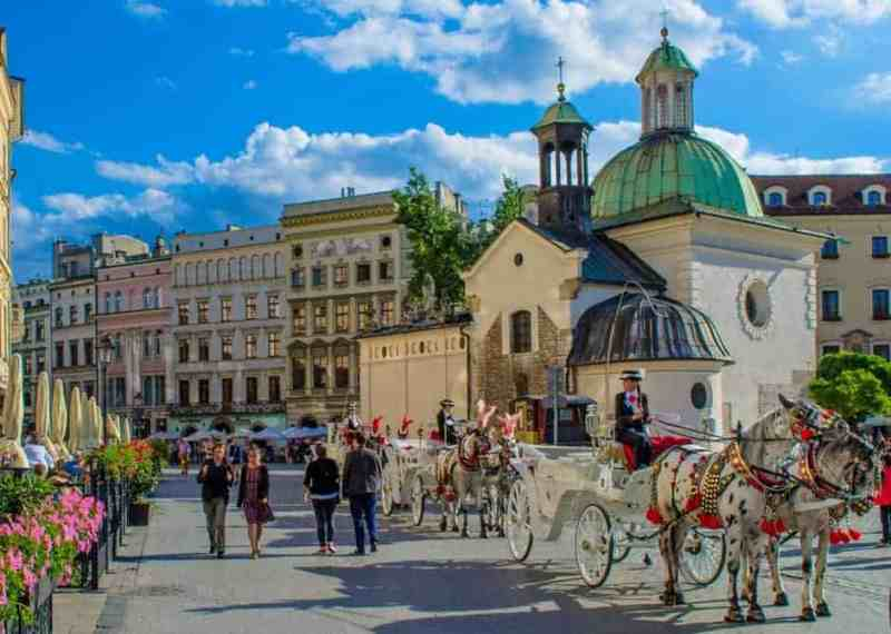 Krakow center
