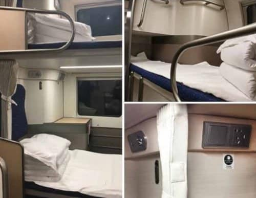 Soft Sleeper in New Trains