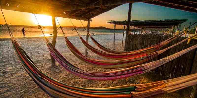 Guajira Beach in Colombia