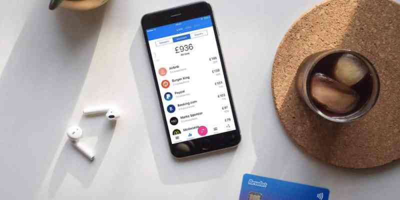 The Revolut mobile app