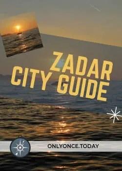 Zadar City Guide
