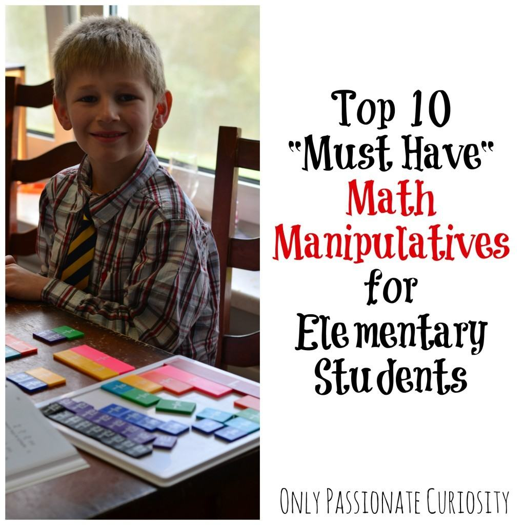 Top 10 Math Manipulatives For Elementary Students