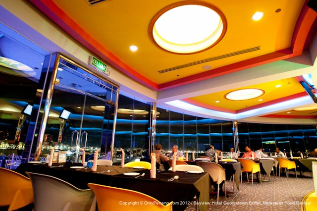 The Revolving Restaurant In Penang