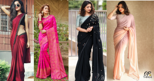 8 Ways to wear Saree in a different Style!