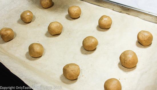 Making Ginger Snaps