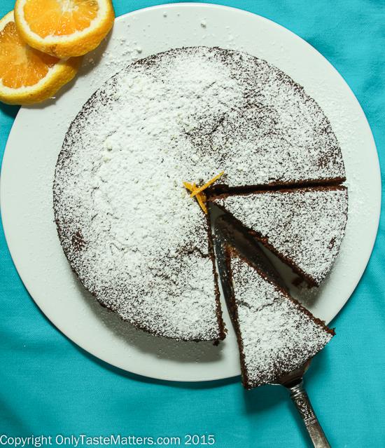 Orange Hazelnut Olive Oil Cake #gfree