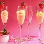 White Chocolate Champagne Mousse