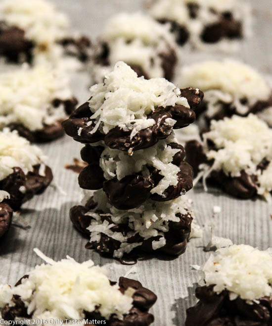 Inside-Out Almond Joy Clusters | Only Taste Matters