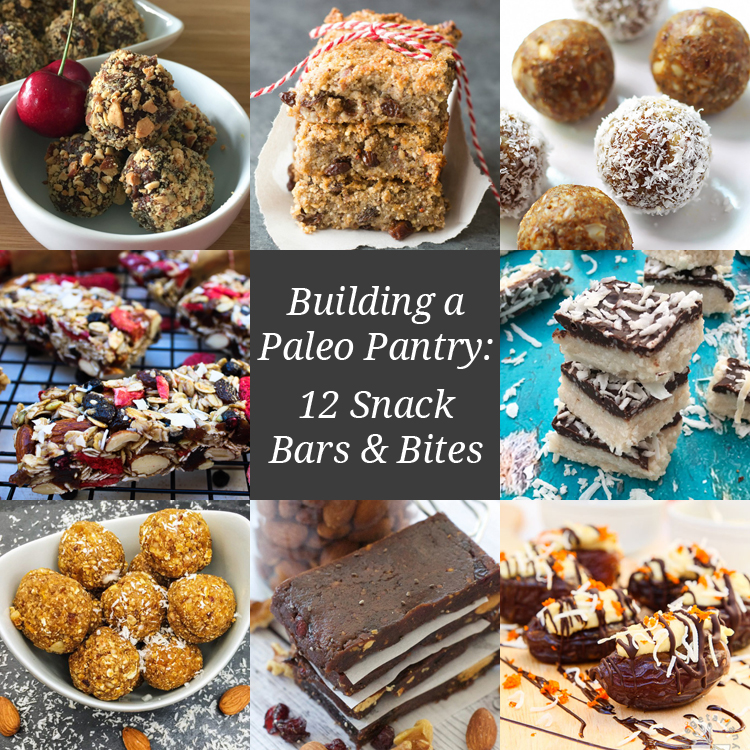 Building a Paleo Pantry: 12 Snack Bars and Bites | Only Taste Matters